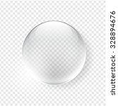 glass sphere. vector design | Shutterstock .eps vector #328894676