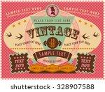 vintage label | Shutterstock .eps vector #328907588