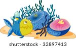 coral reef  vector version in... | Shutterstock . vector #32897413