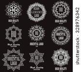 oriental high quality logo...   Shutterstock .eps vector #328976342