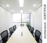interior of meeting room in... | Shutterstock . vector #328979528