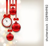 illustration new year... | Shutterstock .eps vector #328984982