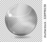 big gray transparent glass... | Shutterstock .eps vector #328998158