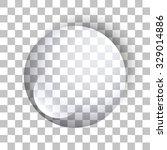 water drop. glass sphere.... | Shutterstock .eps vector #329014886