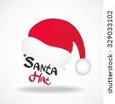 santa hat   Shutterstock .eps vector #329033102