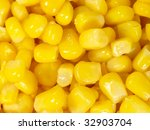 canned corn as is distributed... | Shutterstock . vector #32903704