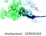movement of smoke  abstract ... | Shutterstock . vector #329039102