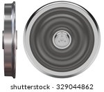 train wheels isolated on white   Shutterstock . vector #329044862