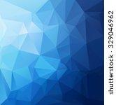 blue polygonal mosaic... | Shutterstock .eps vector #329046962