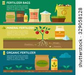 agriculture  fertilizer bag ... | Shutterstock .eps vector #329058128
