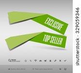 modern infographics options... | Shutterstock .eps vector #329059346