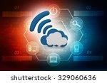 cloud computing concept | Shutterstock . vector #329060636