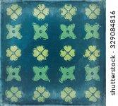 abstract floral motif ... | Shutterstock . vector #329084816
