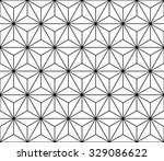 vector modern seamless sacred... | Shutterstock .eps vector #329086622