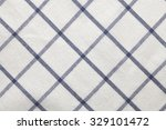 blue white texture fabric... | Shutterstock . vector #329101472