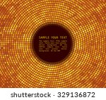 abstract background. gold... | Shutterstock .eps vector #329136872