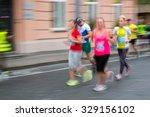 blurred  defocused  image of... | Shutterstock . vector #329156102