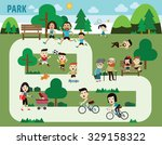 People In The Park Infographic...