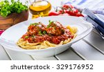 Meat Balls With Spaghetti And...