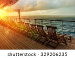 Cruise Ship Wooden Deck Chairs...