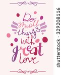 motivational quote poster   Shutterstock .eps vector #329208116