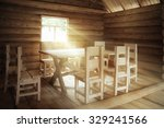 Rustic Interior Wooden House...