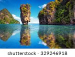 phuket thailand nature. asia... | Shutterstock . vector #329246918