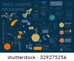 space  universe graphic design. ... | Shutterstock .eps vector #329275256