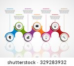 abstract infographics design... | Shutterstock .eps vector #329283932