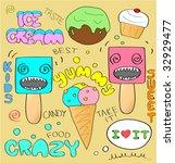 candies doodles | Shutterstock .eps vector #32929477