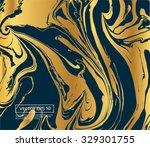 vector ink texture watercolor...   Shutterstock .eps vector #329301755
