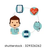 healthcare concept design ... | Shutterstock .eps vector #329326262