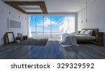3ds rendered image of seaside...   Shutterstock . vector #329329592