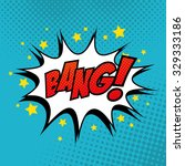 pop art comic bubbles design ...   Shutterstock .eps vector #329333186