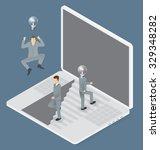 idea concept. vector flat... | Shutterstock .eps vector #329348282