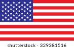 united states america flag... | Shutterstock .eps vector #329381516
