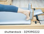 pilates fitness | Shutterstock . vector #329390222