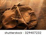 Leather Backpack Or Knapsack...