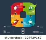 vector illustration of colorful ... | Shutterstock .eps vector #329429162