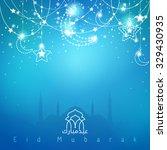 vector greeting background for... | Shutterstock .eps vector #329430935