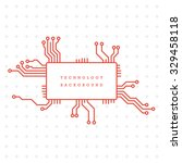 technology abstract motherboard ...   Shutterstock .eps vector #329458118
