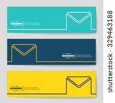 abstract creative concept... | Shutterstock .eps vector #329463188
