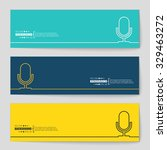 abstract creative concept... | Shutterstock .eps vector #329463272
