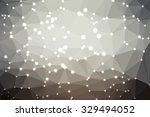 gray abstract geometric... | Shutterstock .eps vector #329494052