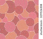 vector modern red spiral... | Shutterstock .eps vector #329526308