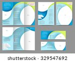 set of colored abstract...   Shutterstock .eps vector #329547692