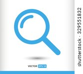 search icon. one of set web...