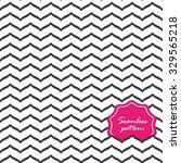 perfect seamless zig zag... | Shutterstock .eps vector #329565218