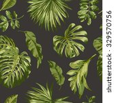 seamless exotic pattern with... | Shutterstock .eps vector #329570756