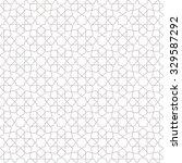 abstract pattern in arabian... | Shutterstock .eps vector #329587292